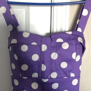 Pin up polka dot dress